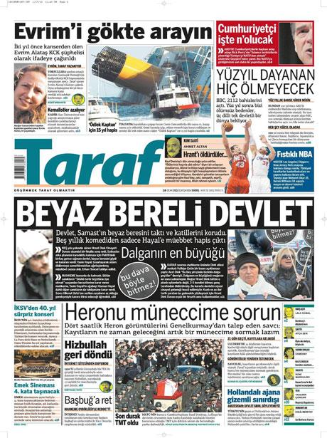 Manşetlerde Hrant Dink kararına tepki var galerisi resim 17