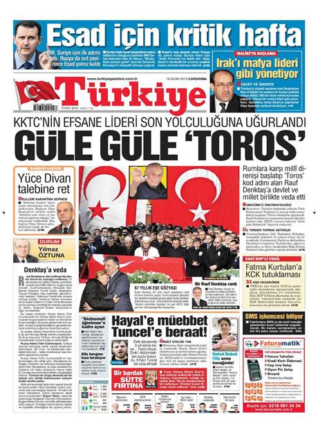 Manşetlerde Hrant Dink kararına tepki var galerisi resim 18