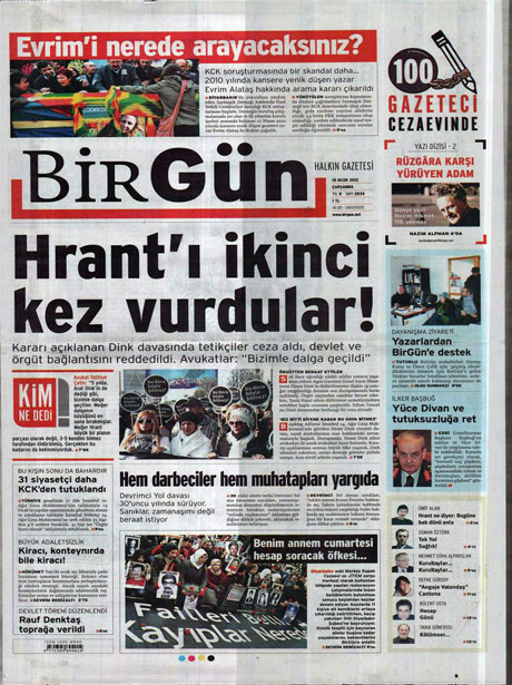 Manşetlerde Hrant Dink kararına tepki var galerisi resim 2