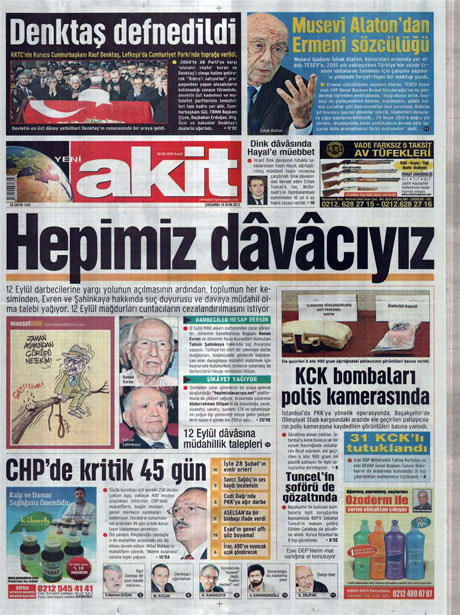 Manşetlerde Hrant Dink kararına tepki var galerisi resim 20