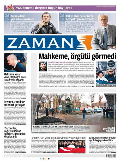 Manşetlerde Hrant Dink kararına tepki var galerisi resim 22