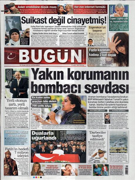 Manşetlerde Hrant Dink kararına tepki var galerisi resim 3