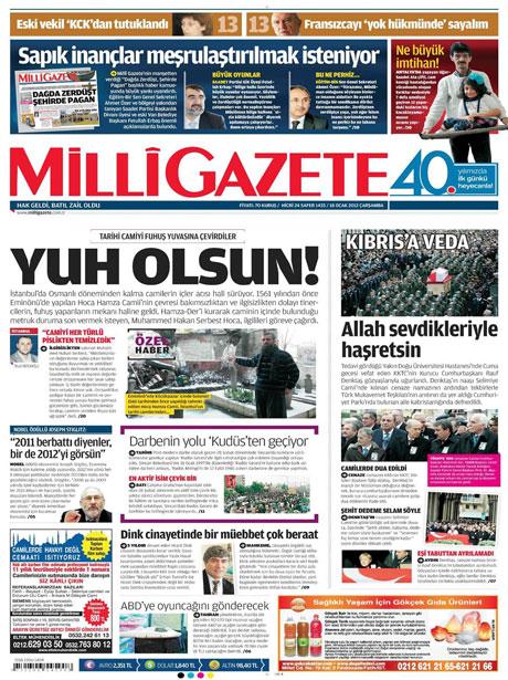 Manşetlerde Hrant Dink kararına tepki var galerisi resim 8
