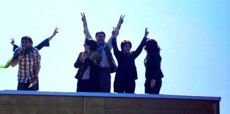 Newroz coşkusu yasak dinlemedi! galerisi resim 55