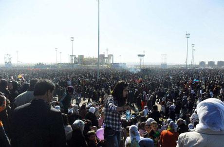 Newroz coşkusu yasak dinlemedi! galerisi resim 56