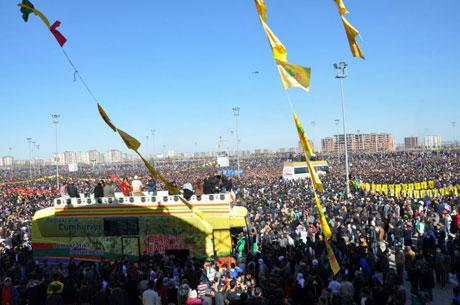 Newroz coşkusu yasak dinlemedi! galerisi resim 59