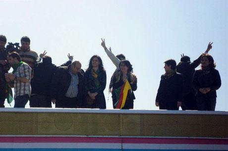 Newroz coşkusu yasak dinlemedi! galerisi resim 60
