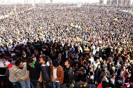 Newroz coşkusu yasak dinlemedi! galerisi resim 64