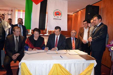 Sur Belediyesi Ramallah ile kardeş oldu galerisi resim 7