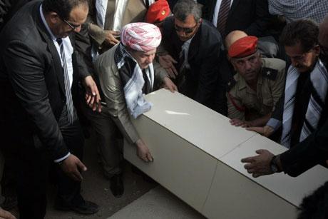 730 Enfal kurbanın kemikleri Kürdistan'da galerisi resim 7