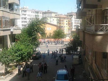 Diyarbakır savaş alanına döndü galerisi resim 26