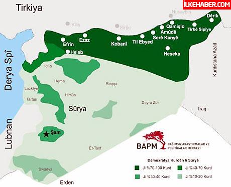 Kürtler Kobani'de yönetime el koydu galerisi resim 16