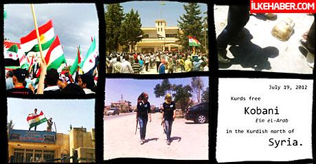 Kürtler Kobani'de yönetime el koydu galerisi resim 2