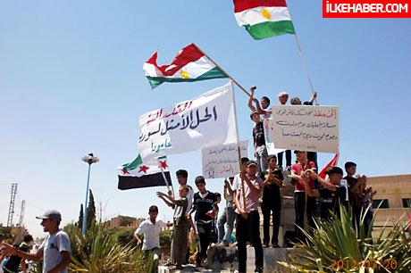 Kürtler Kobani'de yönetime el koydu galerisi resim 36