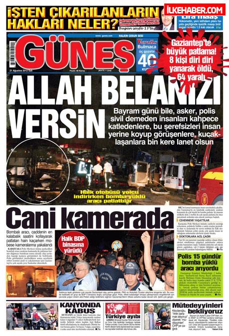 Gazetelerin bugünkü manşetleri galerisi resim 13