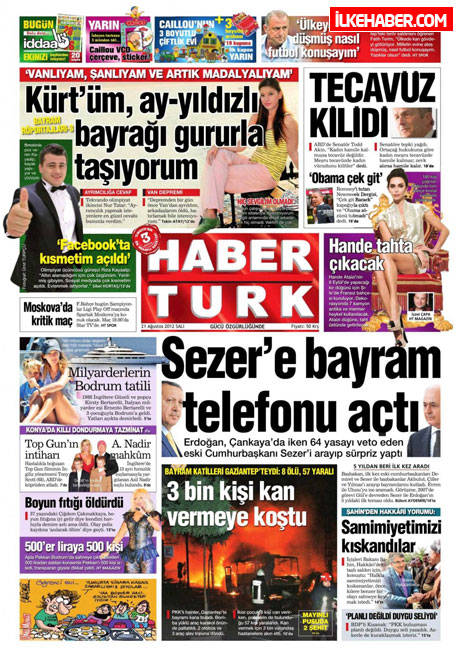 Gazetelerin bugünkü manşetleri galerisi resim 15