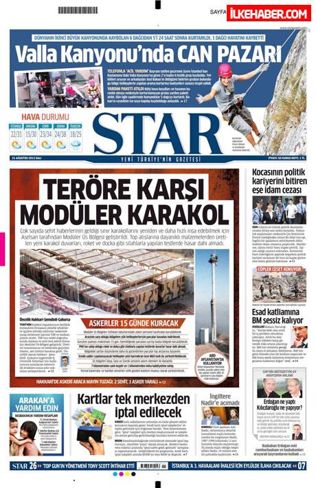 Gazetelerin bugünkü manşetleri galerisi resim 19