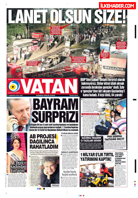Gazetelerin bugünkü manşetleri galerisi resim 24