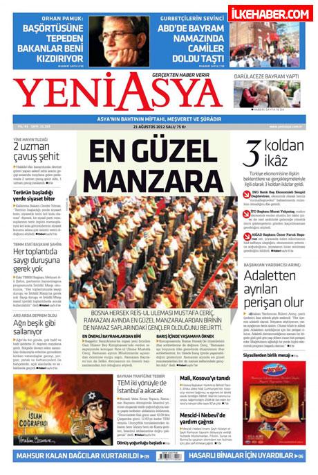 Gazetelerin bugünkü manşetleri galerisi resim 26