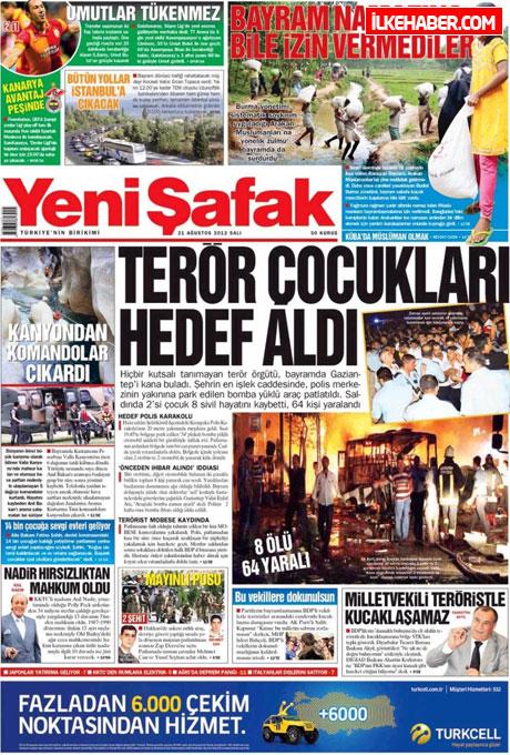 Gazetelerin bugünkü manşetleri galerisi resim 28