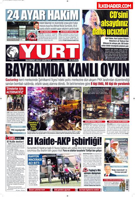 Gazetelerin bugünkü manşetleri galerisi resim 29