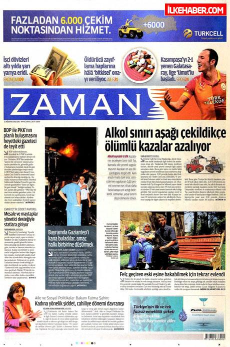 Gazetelerin bugünkü manşetleri galerisi resim 30