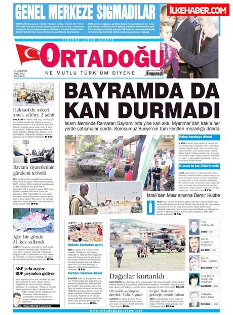 Gazetelerin bugünkü manşetleri galerisi resim 4