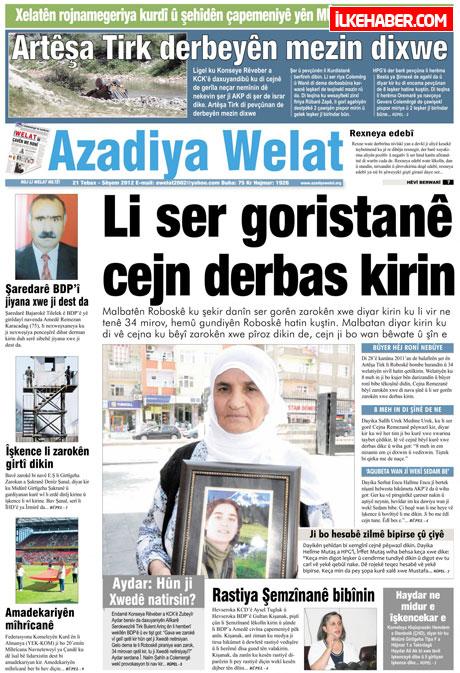 Gazetelerin bugünkü manşetleri galerisi resim 9