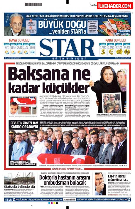 Günün öne çıkan gazete manşetleri galerisi resim 22