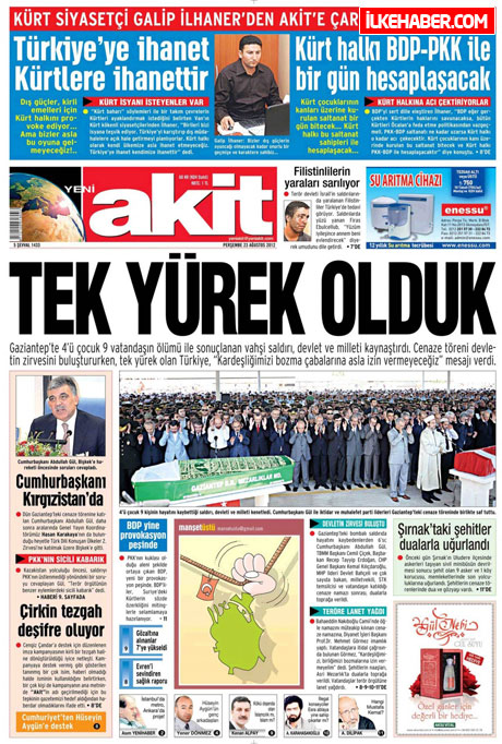 Günün öne çıkan gazete manşetleri galerisi resim 28