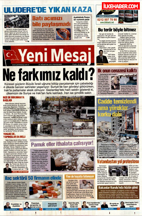 Günün öne çıkan gazete manşetleri galerisi resim 32