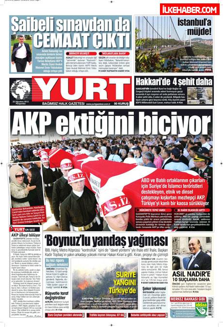 Günün öne çıkan gazete manşetleri galerisi resim 34
