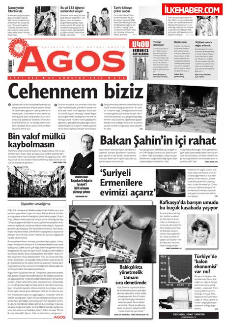 Günün öne çıkan gazete manşetleri galerisi resim 1