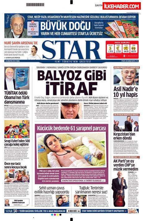 Günün öne çıkan gazete manşetleri galerisi resim 23