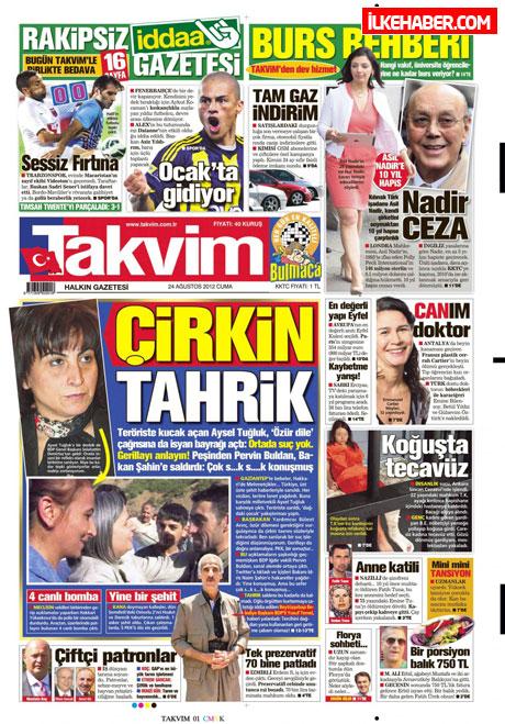 Günün öne çıkan gazete manşetleri galerisi resim 24