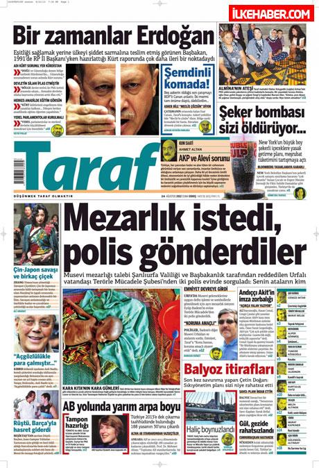 Günün öne çıkan gazete manşetleri galerisi resim 25