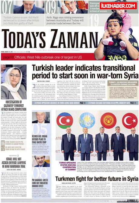 Günün öne çıkan gazete manşetleri galerisi resim 26