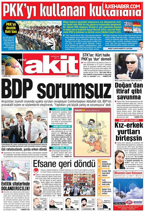 Günün öne çıkan gazete manşetleri galerisi resim 29