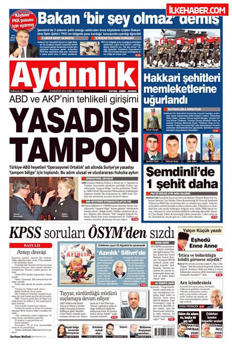 Günün öne çıkan gazete manşetleri galerisi resim 3