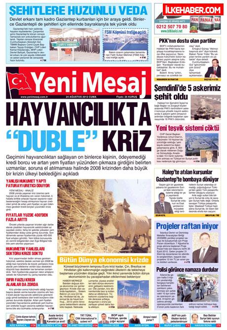 Günün öne çıkan gazete manşetleri galerisi resim 33