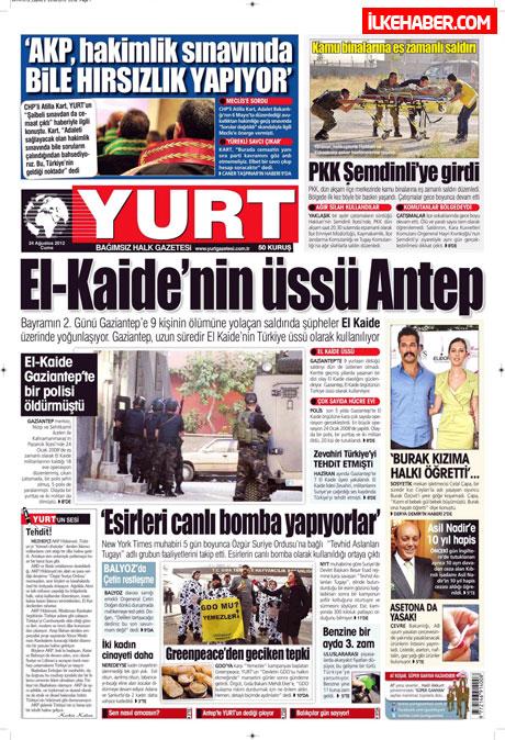 Günün öne çıkan gazete manşetleri galerisi resim 35