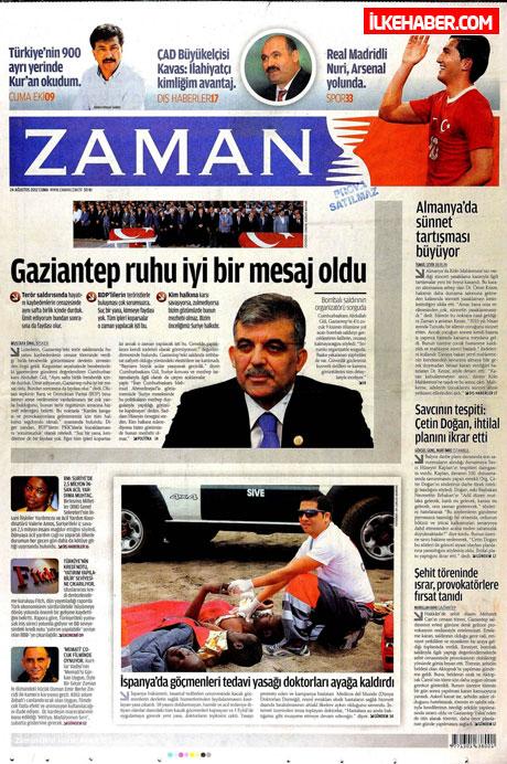 Günün öne çıkan gazete manşetleri galerisi resim 36
