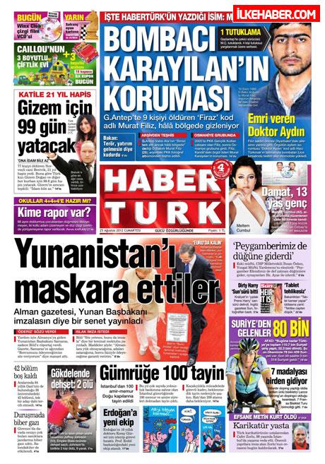 Gazetelerin bugünkü manşetleri galerisi resim 10