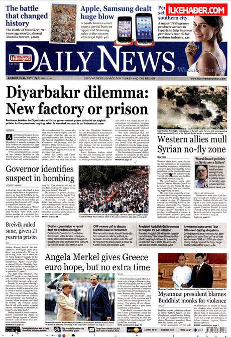 Gazetelerin bugünkü manşetleri galerisi resim 12