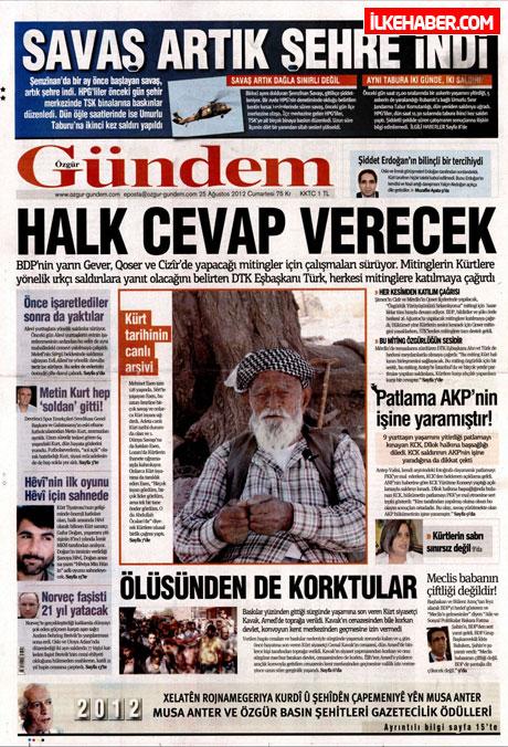 Gazetelerin bugünkü manşetleri galerisi resim 17