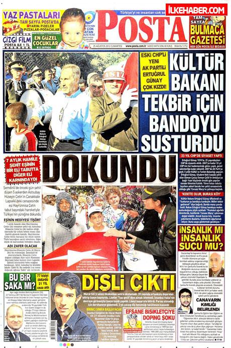 Gazetelerin bugünkü manşetleri galerisi resim 18