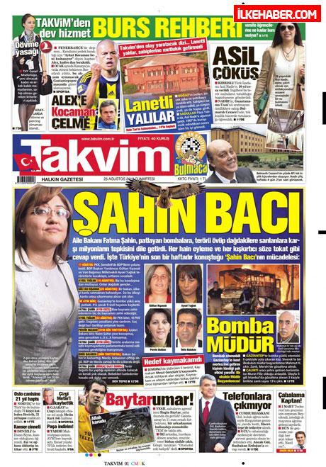 Gazetelerin bugünkü manşetleri galerisi resim 23