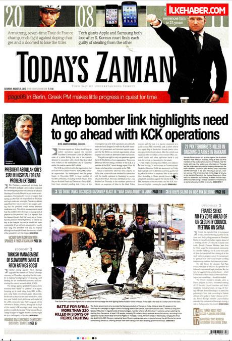 Gazetelerin bugünkü manşetleri galerisi resim 25