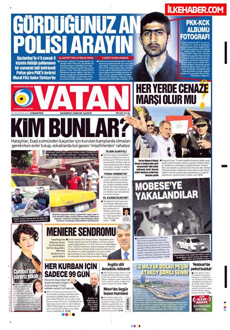 Gazetelerin bugünkü manşetleri galerisi resim 27