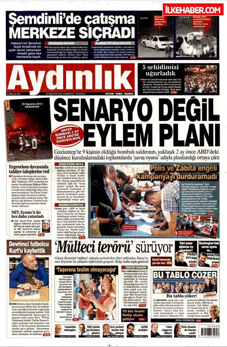 Gazetelerin bugünkü manşetleri galerisi resim 3